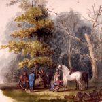 George Winter watercolor. (86.334 K-13)