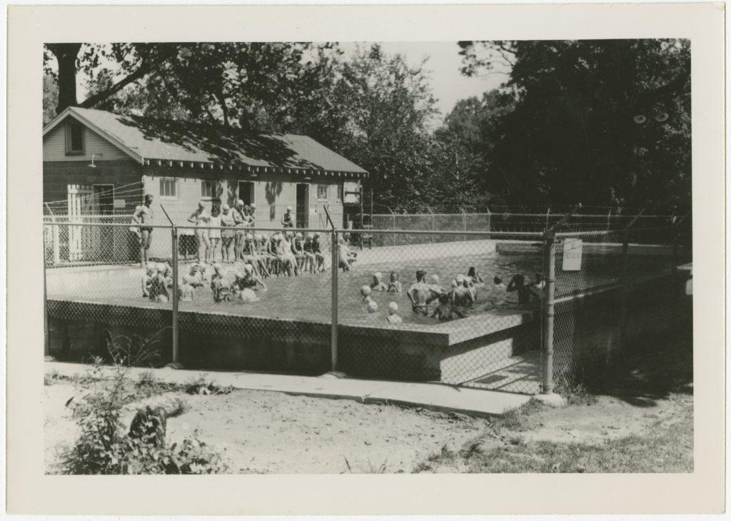 Swimming Pool at the Methodist Camp.